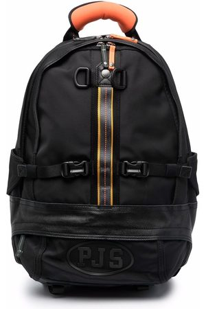 Parajumpers Rounded logo-print backpack