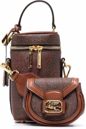 Etro Women Wallets - Paisley-print bucket bag