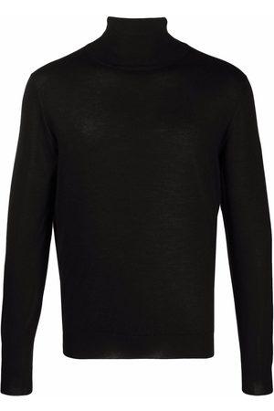 FEDELI Roll neck cashmere-silk jumper