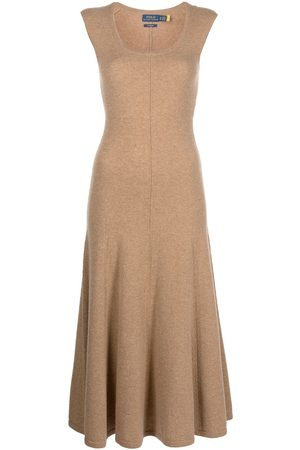 Polo Ralph Lauren Women Casual Dresses - Scoop-neck cashmere dress