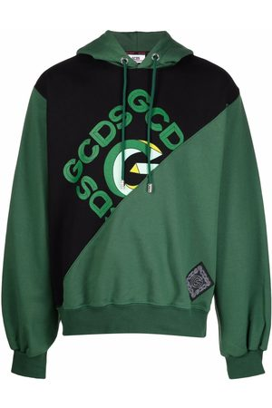 GCDS Men Hoodies - Deconstructed logo hoodie