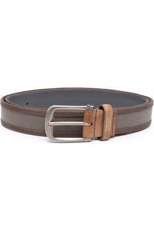 Lanvin Men Belts - Two-tone leather belt