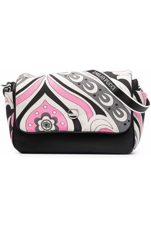 Emilio Pucci Junior Baby Changing Bags - Signature-print changing bag