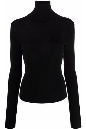 Lemaire Women Turtlenecks - Fine-knit rollneck top