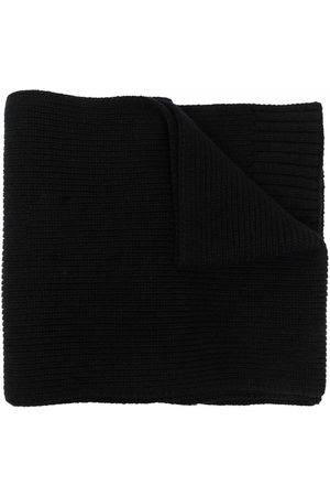 Stone Island Junior Boys Scarves - Logo patch knit scarf