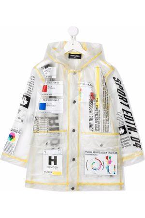 Dsquared2 Logo-print rain coat - Neutrals