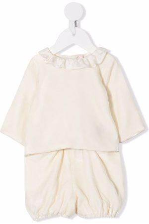 BONPOINT Sets - Ruffle-collar trouser set - Neutrals