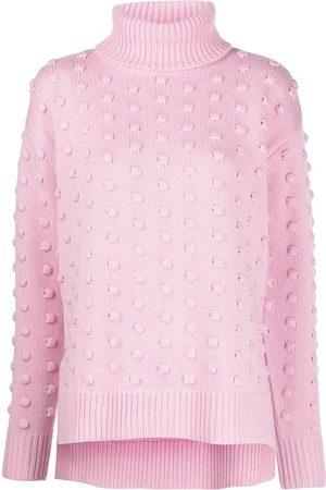 LELA ROSE Roll neck wool jumper