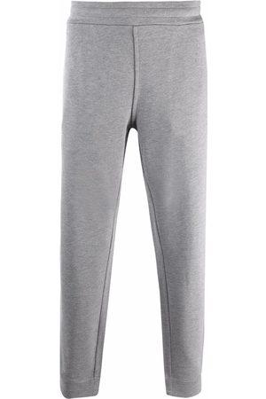Emporio Armani Logo-detail track pants - Grey
