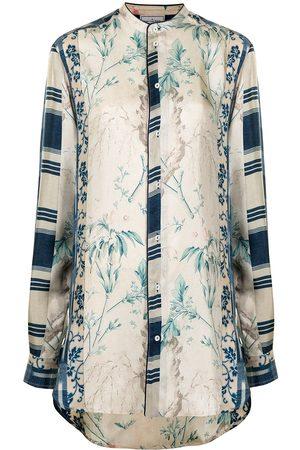 PIERRE-LOUIS MASCIA Women Blouses - Floral-print silk blouse
