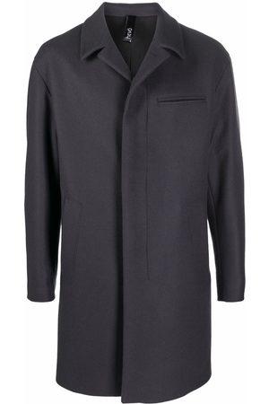 HEVO Torricella single-breasted coat - Grey