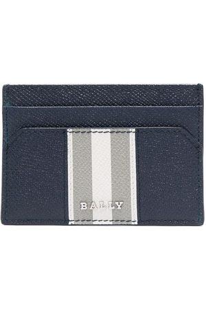 Bally Men Wallets - Logo-plaque leather cardholder