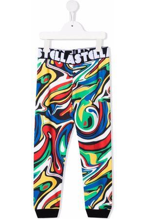 Stella McCartney Pants - Graphic-print elasticated-waistband trousers