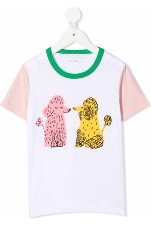 Stella McCartney Doodle Poodles-print T-Shirt