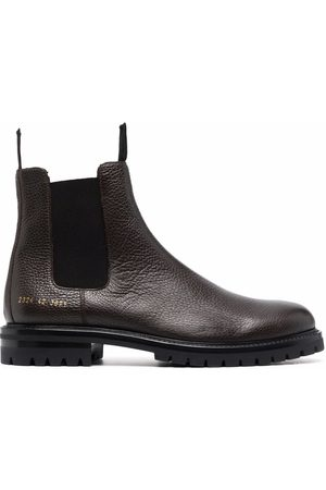 COMMON PROJECTS Ankle-length leather Chelsea boots