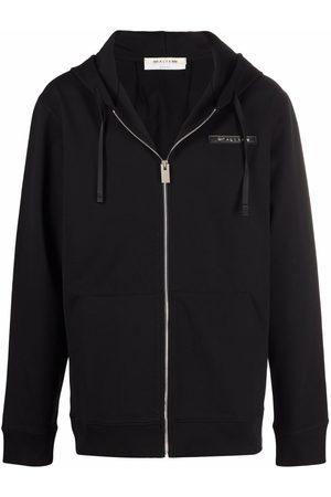 1017 ALYX 9SM Logo-print zip-up hoodie