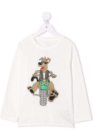 Stella McCartney Boys T-shirts - Cartoon-print cotton T-Shirt