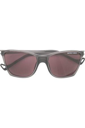 District Vision Men Square - Keiichi square-frame sunglasses