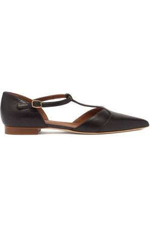 MALONE SOULIERS Immy Point-toe Leather Flats - Womens