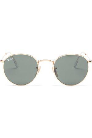 Ray Ban - Round Metal Glasses - Womens