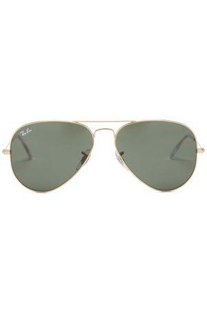Ray Ban - Aviator Metal Sunglasses - Womens