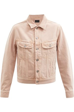 Saint Laurent Buttoned Denim Jacket - Womens - Light