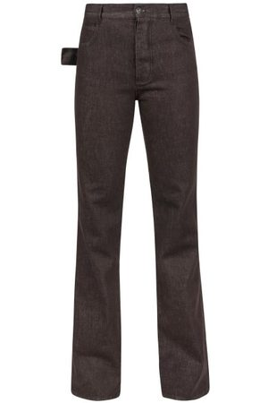 Bottega Veneta Women High Waisted - High-rise Flared-leg Jeans - Womens