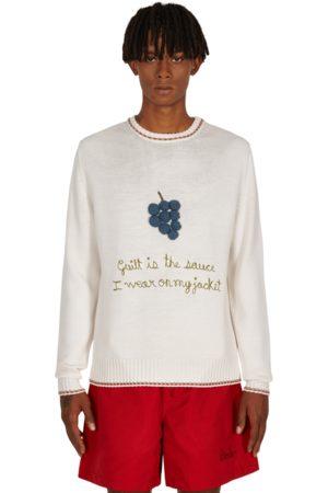 BODE Men Sweatshirts - Crochet grape pullover MULTI S