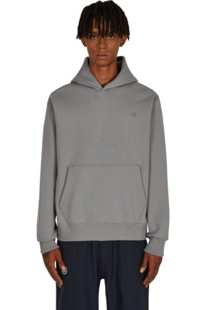adidas Men Sports Hoodies - Adicolor trefoil hooded sweatshirt GREY THREE S