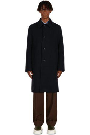 DRIES VAN NOTEN Men Fleece Jackets - Rovey coat NAVY S
