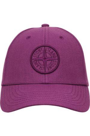 Stone Island Men Caps - Logo cap MAGENTA U