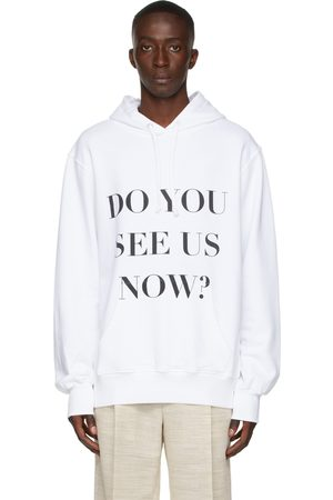 Botter White 'Do You See Us Now?' Hoodie
