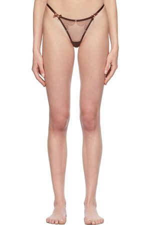 Agent Provocateur Brown Lorna Thong
