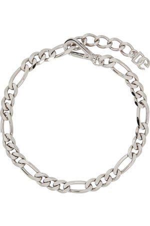 Dolce & Gabbana Silver Curb Chain Necklace