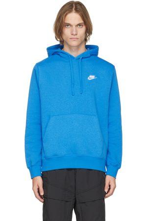 Nike Blue Sportswear Club Hoodie