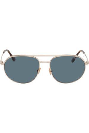 Tom Ford Rose Gold Gio Sunglasses