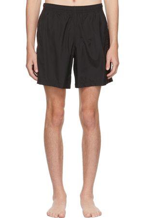 Alexander McQueen Black Selvedge Swim Shorts