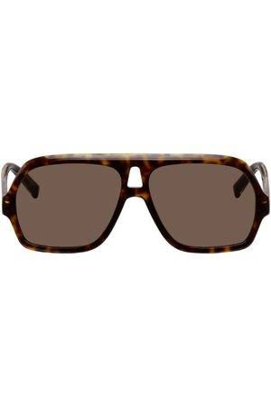Givenchy Tortoiseshell 7200 Aviator Sunglasses