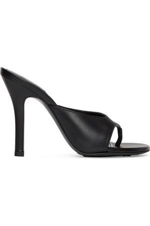 Givenchy Black Two Toes Heeled Sandals