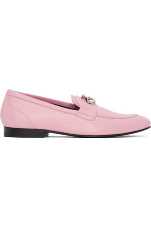Givenchy Pink G Chain Loafers