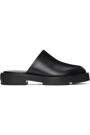 Givenchy Black Squared Loafers