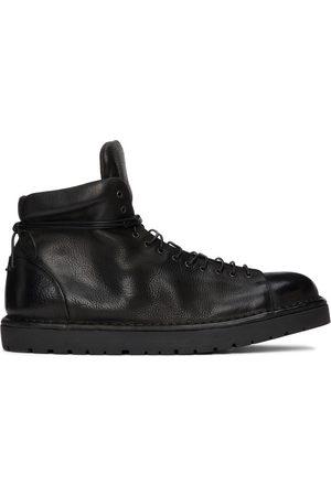 MARSÈLL Black Gomme Pallottola Pedula Boots