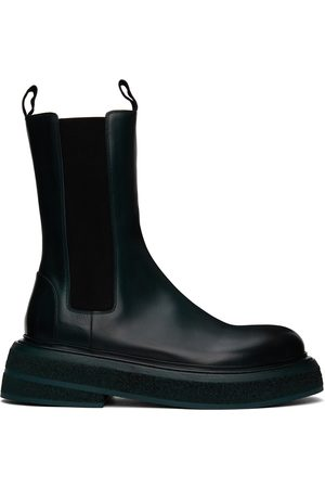 MARSÈLL Green Zuccone Chelsea Boots
