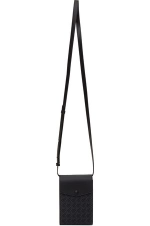 Dunhill Black Signature Messenger Bag