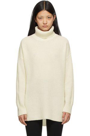 Lisa Yang Off-White Cashmere 'The Marley' Turtleneck