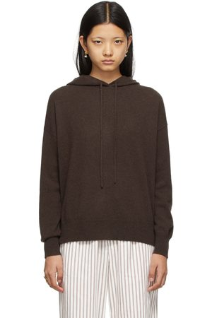 Lisa Yang Brown Cashmere 'The Luella' Hoodie
