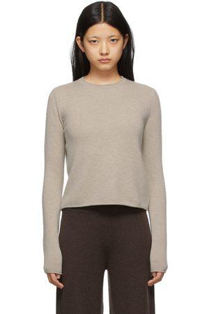 Lisa Yang Beige Cashmere 'The Doreen' Sweater