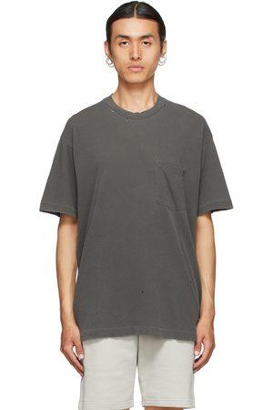 JOHN ELLIOTT Grey Folsom Pocket T-Shirt
