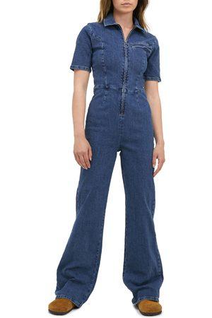 BDG Urban Outfitters Women's '70S Zip Denim Jumpsuit