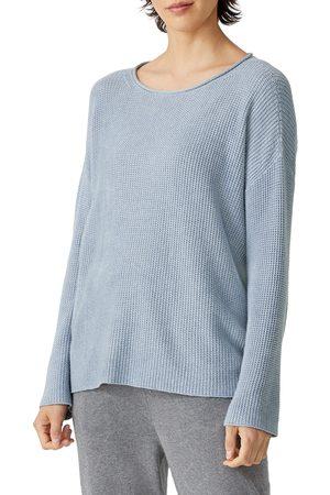 Eileen Fisher Women's Roll Neck Organic Cotton Sweater